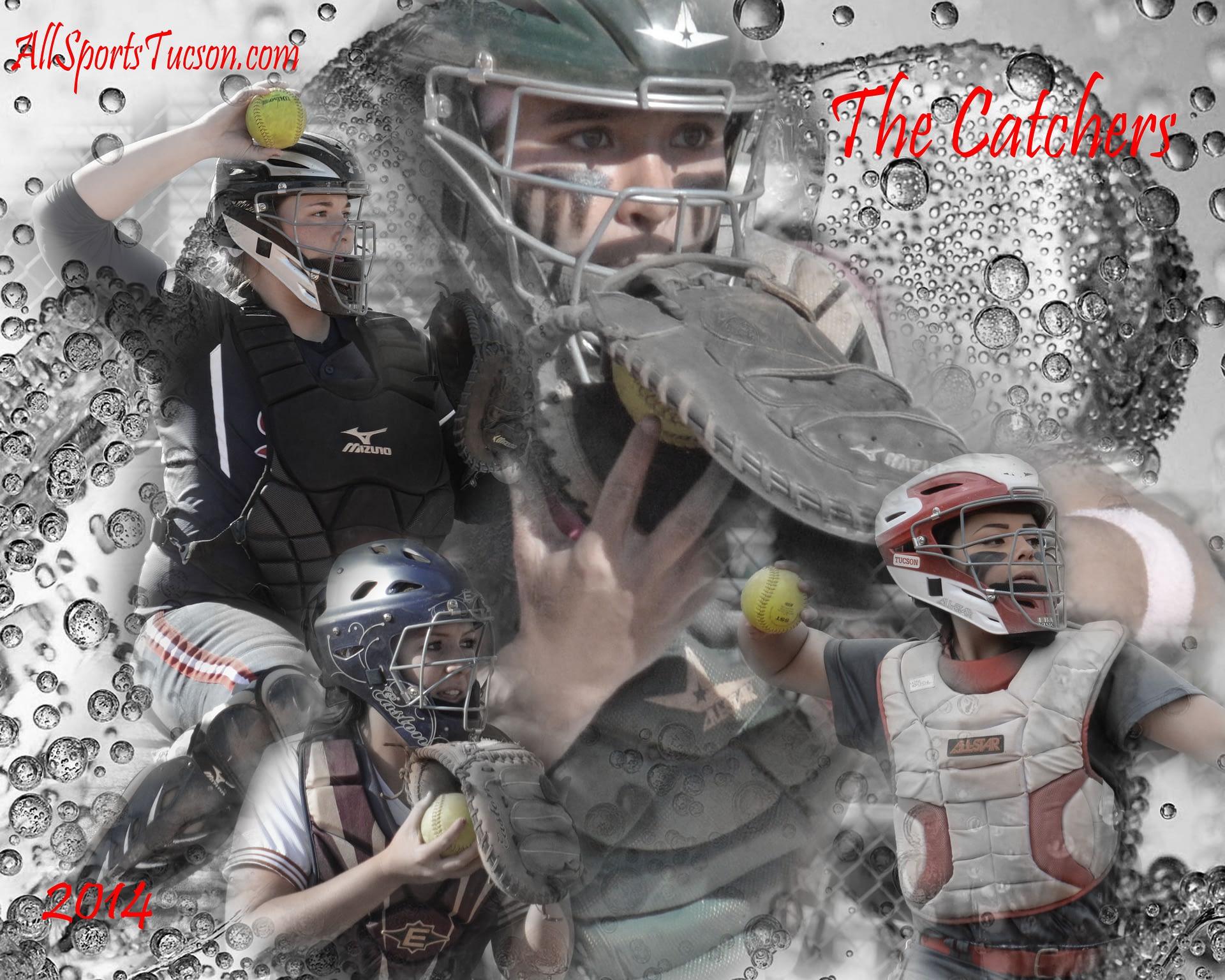 softball catchers poster