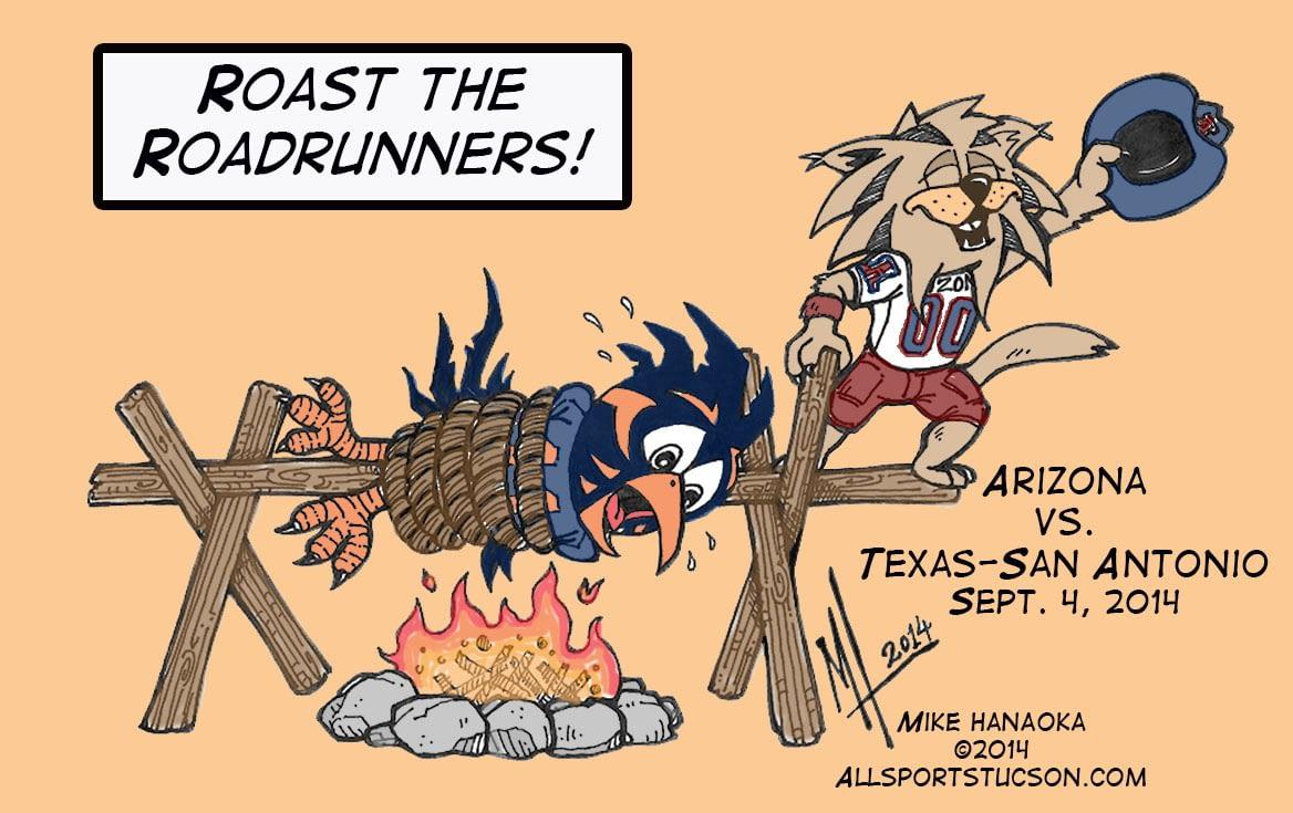 Arizona vs. UTSA
