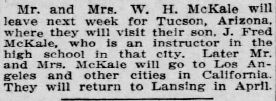 McKale-first-state-title-tucson-Lansing-State-Journal-Dec-1-1911-2