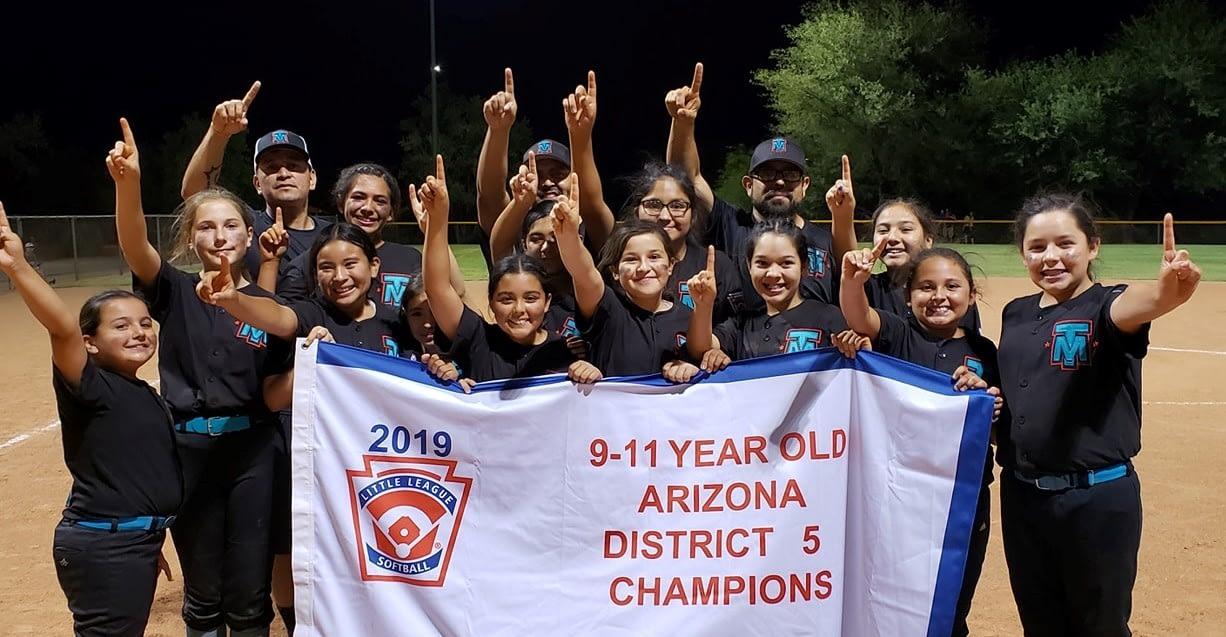little league Tucson Mountain softball