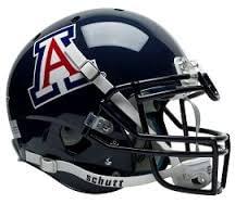 az-football-helmet