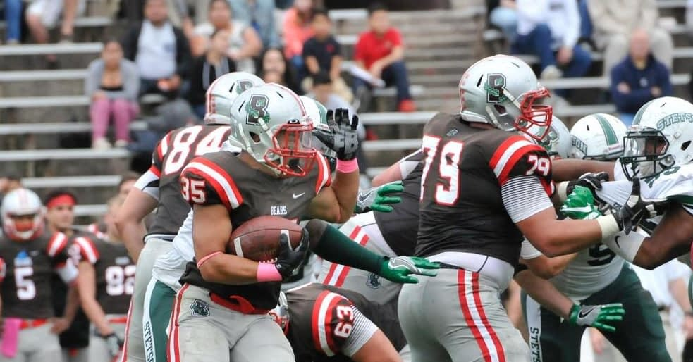 Johnny Pena leads Brown in rushing through the first six games of this season (Brown University photo)