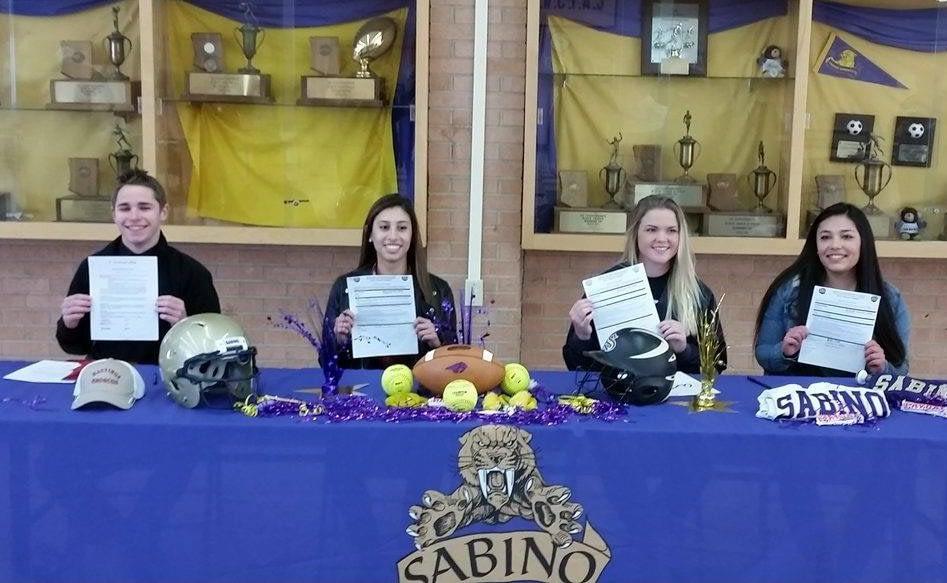 sabino Caelen Warren, Paulina Romero Hannah Freer Justine Valles