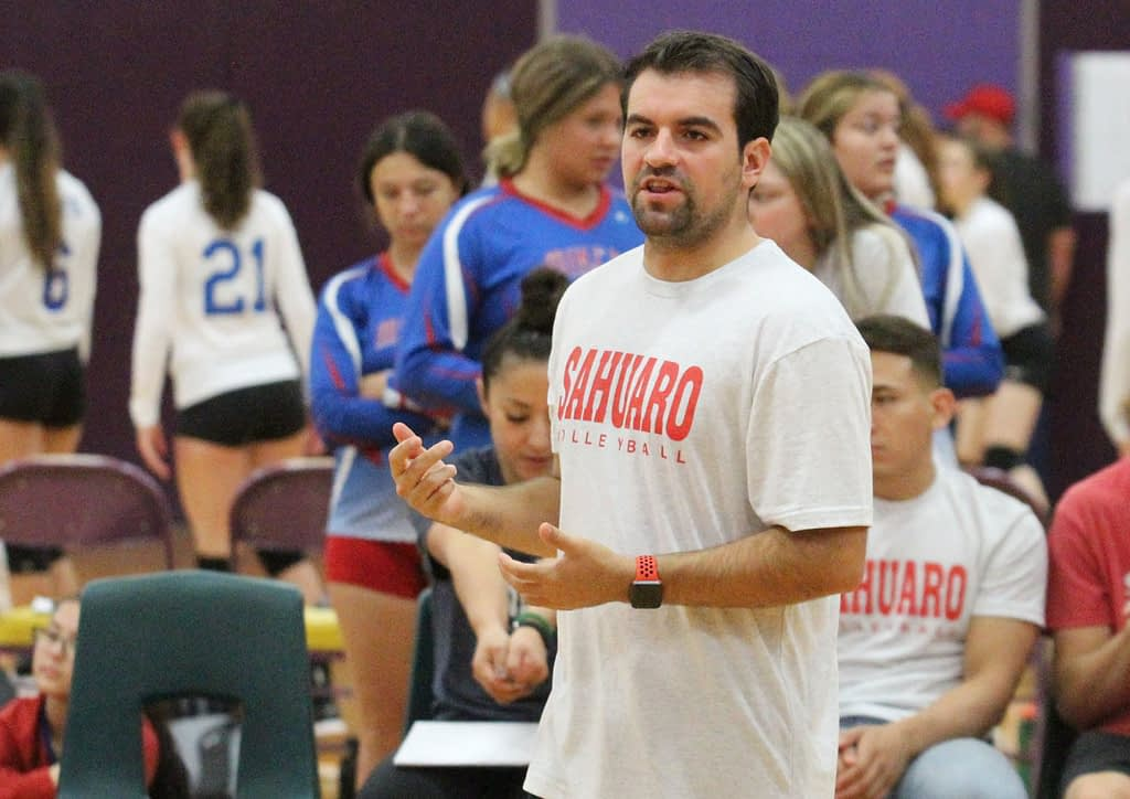Tanque Verde hires Adam Shingler to Coach Girls Volleyball