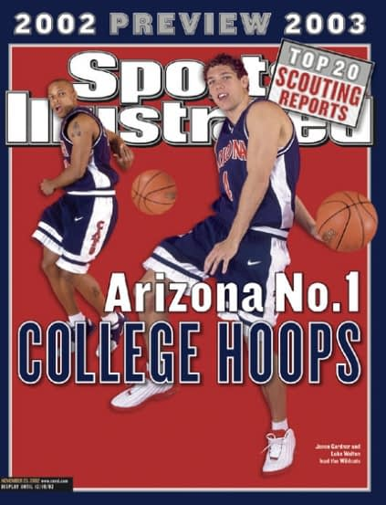 Jason Gardner and Luke Walton (November 25, 2002)