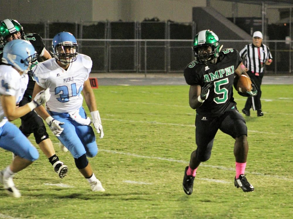 Zulu Deah led all rushers with 112 yards. (Andy Morales/AllSportsTucson.com)