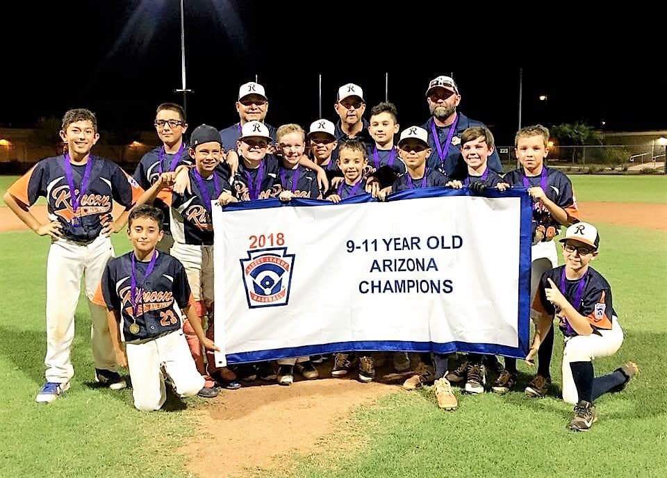 little league rincon 9 11 state champs
